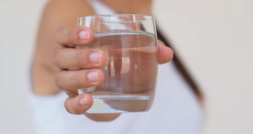 Importância de limpar o purificador de água