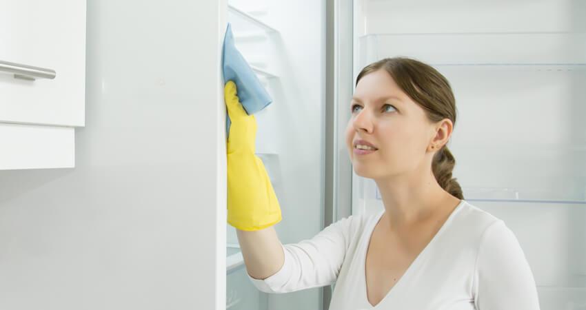 como limpar a geladeira