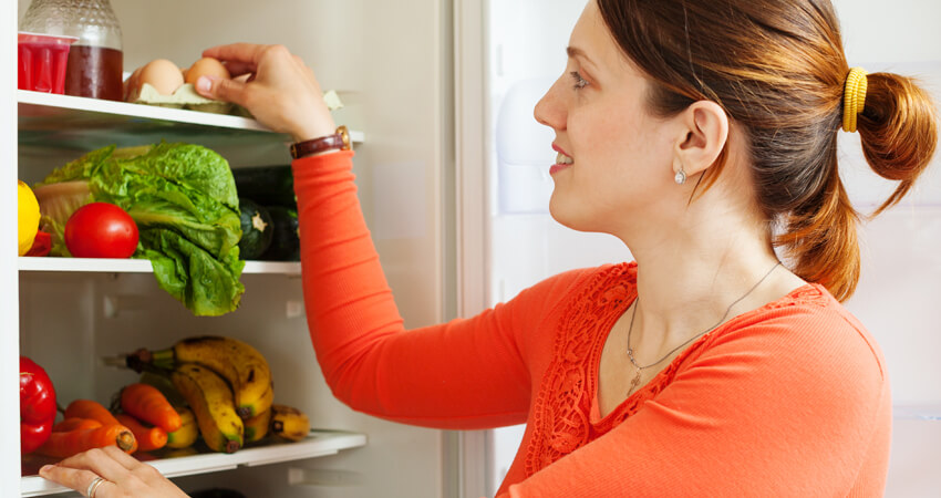 veja como organizar uma geladeira perfeitamente