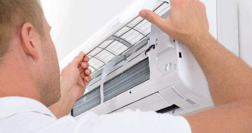 manutenção periódica evita que o ar condicionado estrague